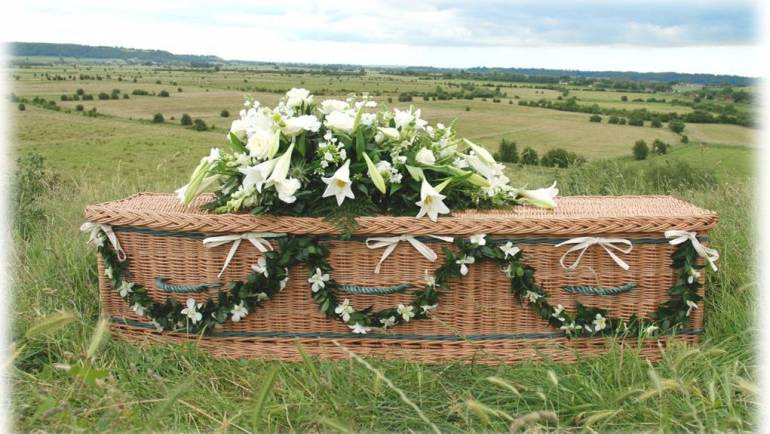 Coffins, memorials and gravestones